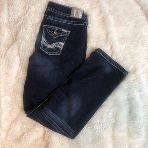 Maurice's Dark Wash Bing Jeans Size 14